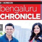 Vishwas Mudagal named in top 11 personalities of Bangalore in 2014! On the cover page.