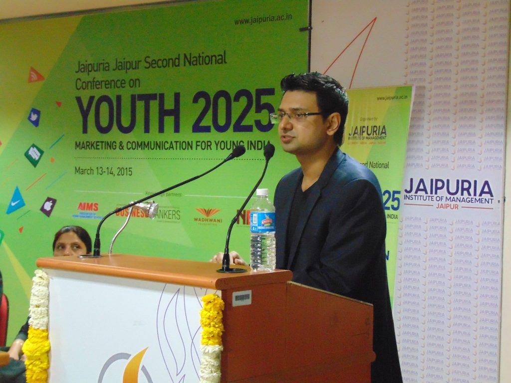 Vishwas-Mudgal-speaks-at-Second-National-Conference-2015-Jaipur