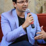 Vishwas Mudagal speaking at eMavericks launch event organised by DELL & CIO India
