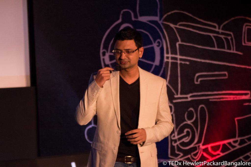 Vishwas Mudagal at Tedx Talk HP