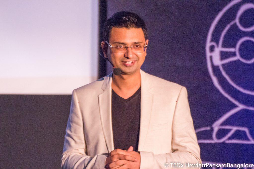 Vishwas Mudagal at Tedx Talk HP 2