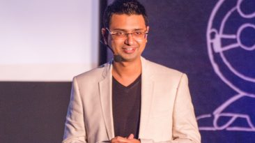 Vishwas Mudagal at Tedx Talk HP 2