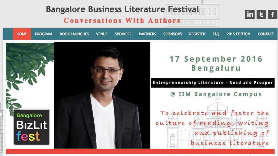 Bangalore BizLit Fest