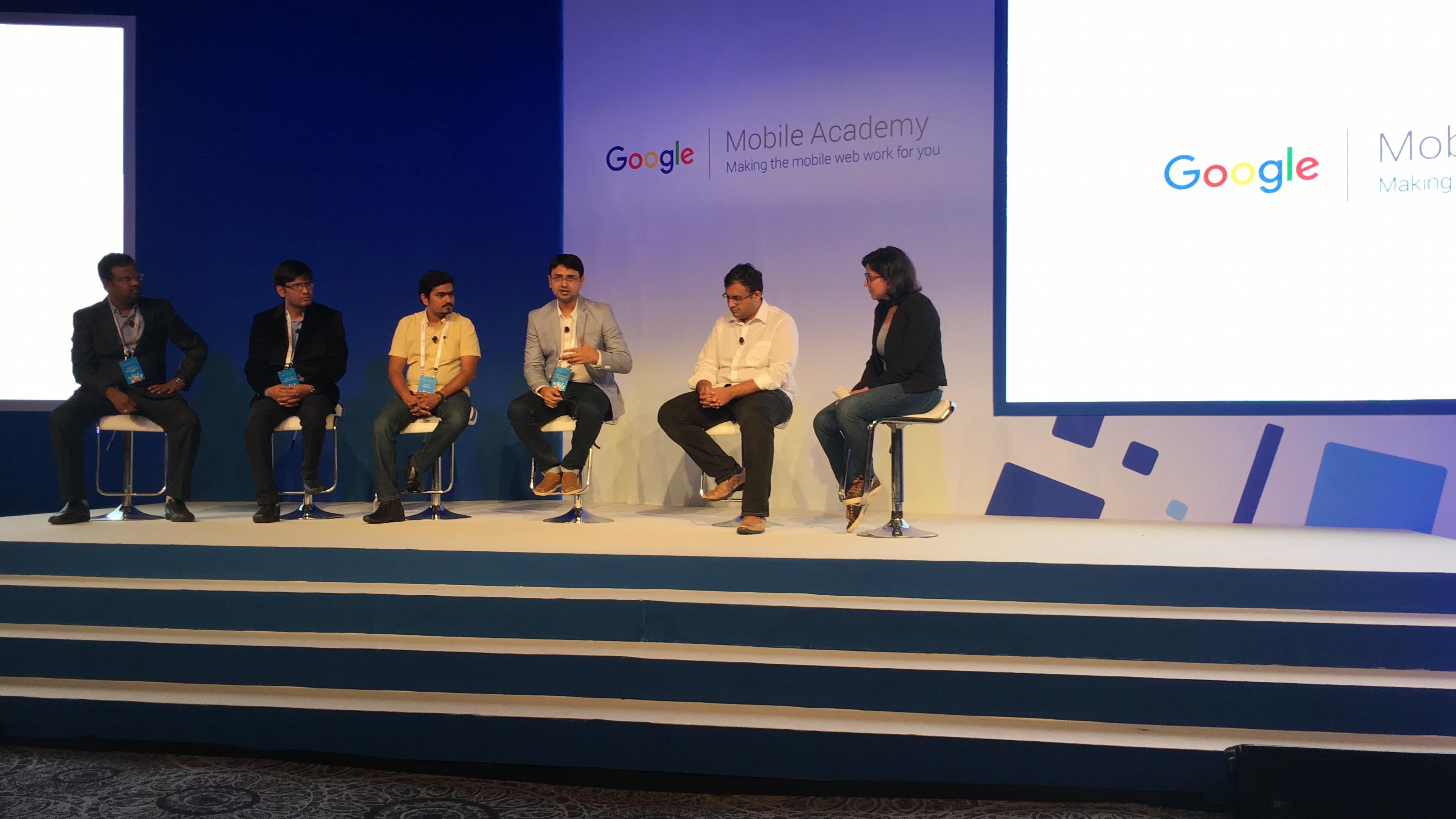 Vishwas Mudagal Google Event