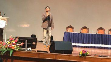 vishwas at startup master class 2017