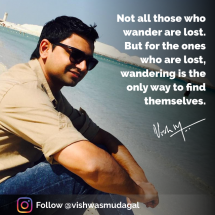 Motivational quotes by Vishwas Mudagal