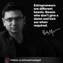 Motivational post - vishwas mudagal