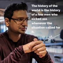 Motivational quote by Vishwas Mudagal