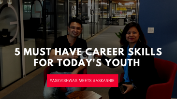 Career advice - Vishwas Mudagal