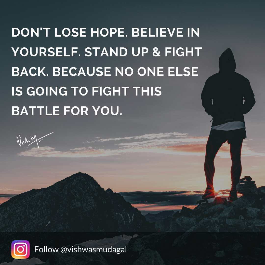 Motivational Quotes By Vishwas Mudagal Daily Motivation