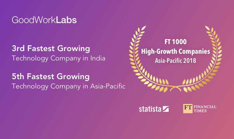 GoodWorkLabs - FT Awards Asia pacific