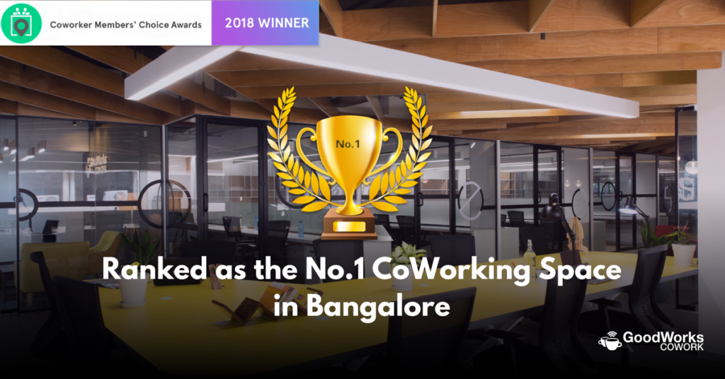 GoodWorks Cowork award