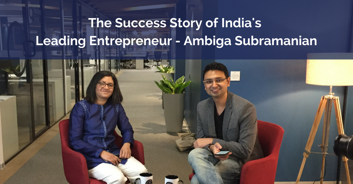 The Success Story of India's Leading Entrepreneur - Ambiga