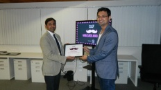 Vishwas Mudagal - winner of manambassador award