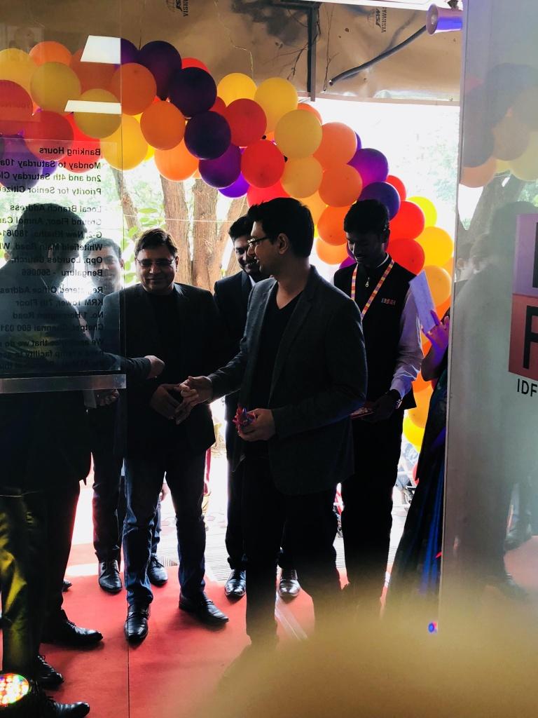 Vishwas mudagal - IDFC inauguration1