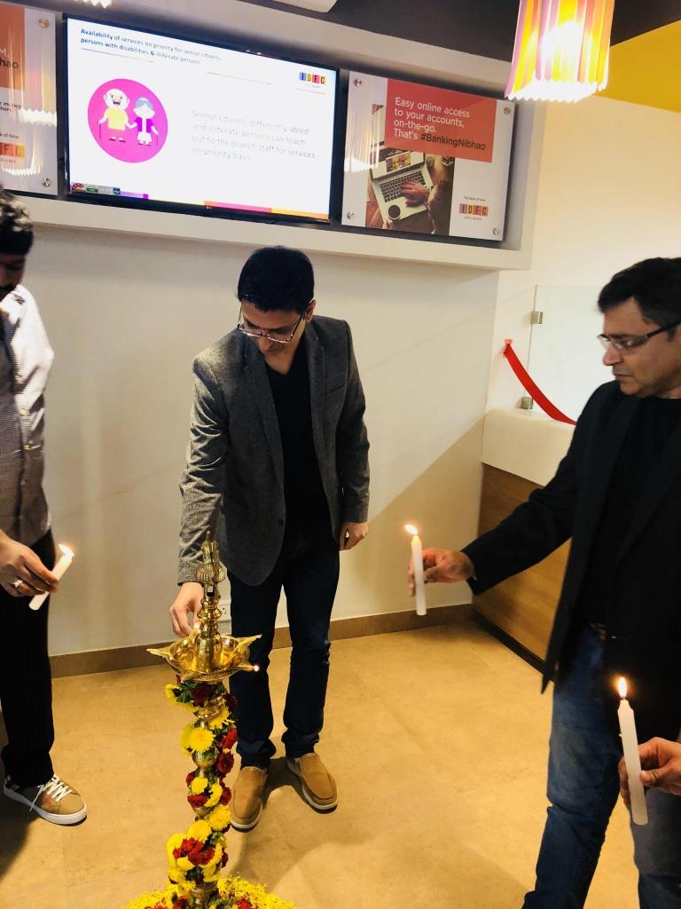Vishwas mudagal - IDFC inauguration3