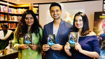 Last Avatar book launch - Shradha sharma, Vishwas Mudagal, Sonia Sharma