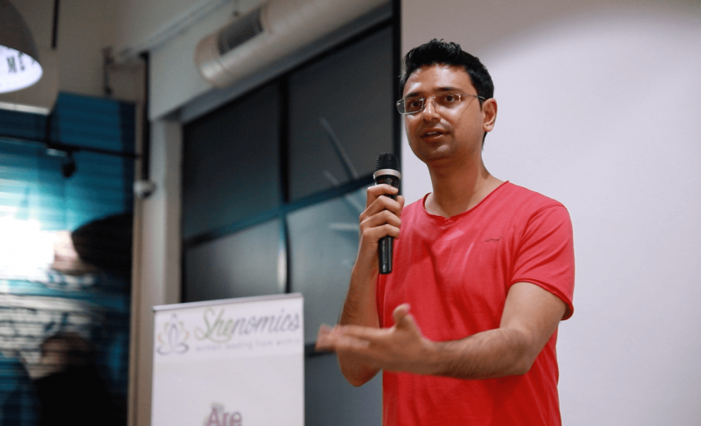 Vishwas Mudagal at Shenomics event