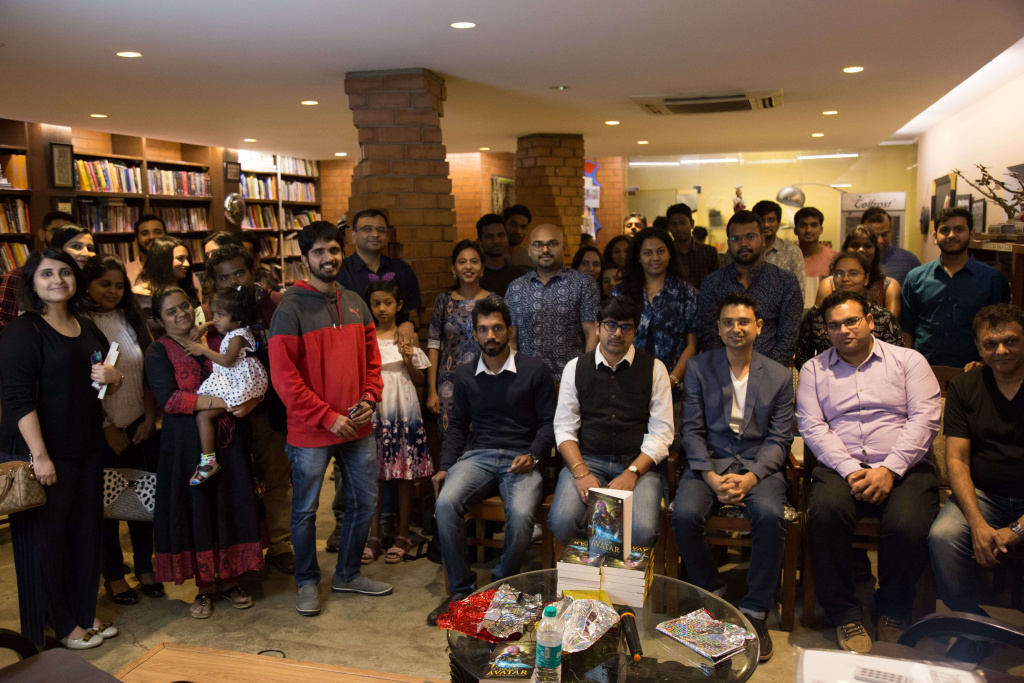Book Launch of Last Avatar - group pic