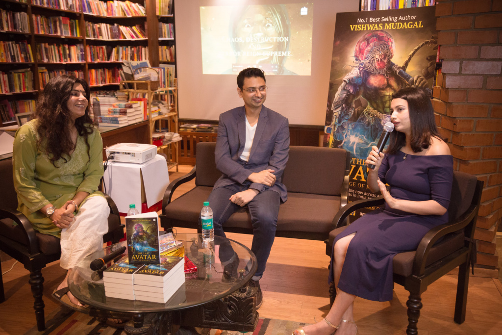 Sonia Sharma at last avatar book launch