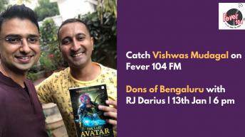 Vishwas Mudagal on Fever 104 FM